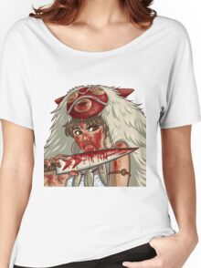 Mononoke's Bloody Knife Women's Relaxed Fit T-Shirt