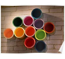 Buckets of Colour Poster