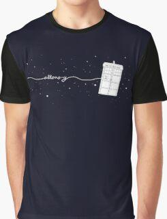 Allons-y to the TARDIS Graphic T-Shirt