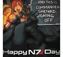 Happy N7 Day Photographic Print