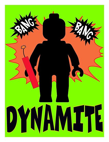 Dynamite Minifigure by Customize My Minifig by ChilleeW