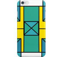 Turquoise glass. iPhone Case/Skin