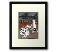 Wolf's Lesson - History Framed Print