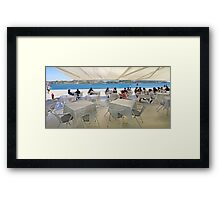 afternoon by the river Framed Print