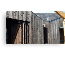 Wooden shack - near Falkirk, Scotland Canvas Print