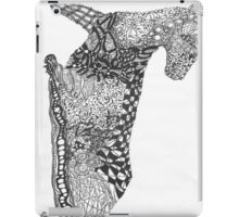 Panther 1 90 degree turn iPad Case/Skin