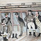 Mr pickwick and friends by GEORGE SANDERSON