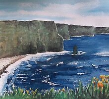 Cliffs of Moher,County Clare,Ireland by marie stewart