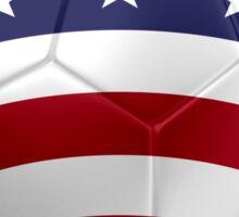 USA - American Flag - Football or Soccer 2 Sticker