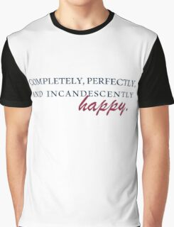 Happy - Pride & Prejudice Graphic T-Shirt