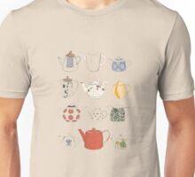 tea pots illustration Unisex T-Shirt