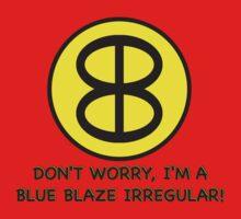 Blue Blaze Irregular Kids Tee