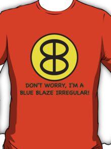 Blue Blaze Irregular T-Shirt