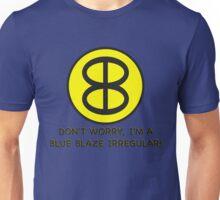Blue Blaze Irregular Unisex T-Shirt