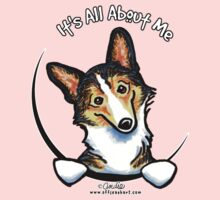 Tricolor Corgi :: It's All About Me by offleashart
