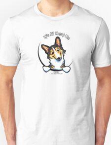 Tricolor Corgi :: It's All About Me T-Shirt