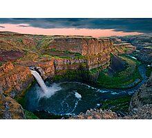 Palouse Falls Sunset Photographic Print