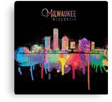 Milwaukee Skyline Canvas Print