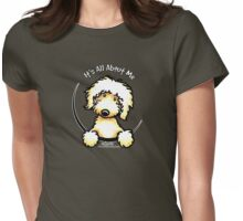 Yellow Labradoodle :: It's All About Me Womens Fitted T-Shirt