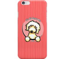 Yellow Labradoodle :: It's All About Me iPhone Case/Skin