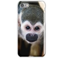 Squirrel monkey iPhone case iPhone Case/Skin