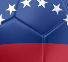 Venezuela - Venezuelan Flag - Football or Soccer 2 Sticker