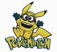 Pokemon and Minion Kids Tee