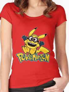 Pokeminion Women's Fitted Scoop T-Shirt