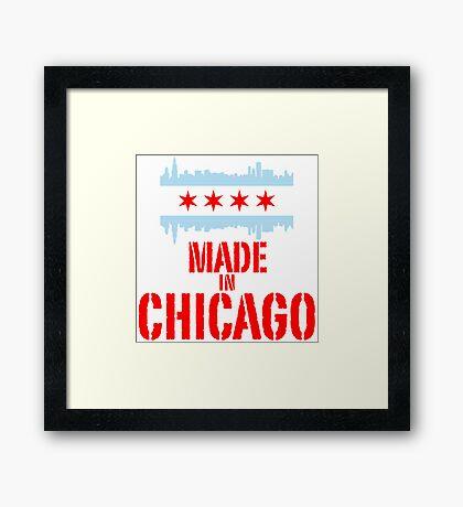 Made in Chicago Framed Print