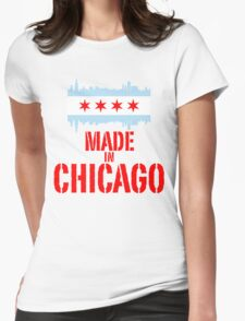 Made in Chicago Womens Fitted T-Shirt