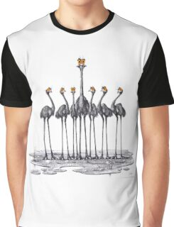 A Longneck and Six Stubbies (White) Graphic T-Shirt