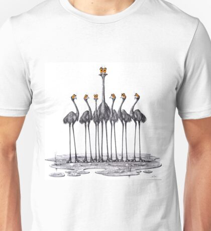 A Longneck and Six Stubbies (White) Unisex T-Shirt