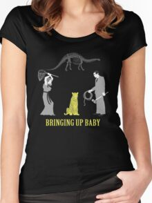 Bringing Up Baby Shirt Women's Fitted Scoop T-Shirt