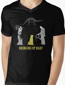 Bringing Up Baby Shirt Mens V-Neck T-Shirt