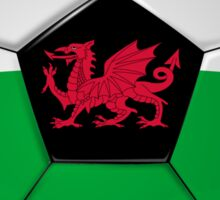Wales - Welsh Flag - Football or Soccer Sticker