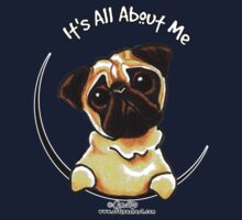 Pug :: It's All About Me One Piece - Long Sleeve