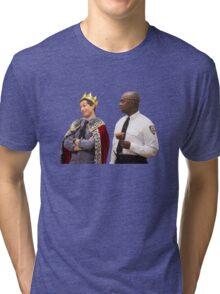 Jake Peralta and Raymond Holt Tri-blend T-Shirt