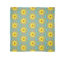 Yellow Everlastings with other Wildflowers Scarf