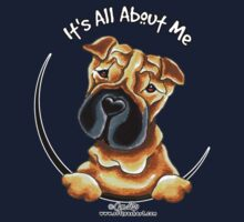 Chinese Shar Pei :: It's All About Me Kids Tee