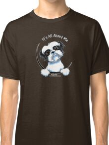 Black/White Shih Tzu :: It's All About Me Classic T-Shirt