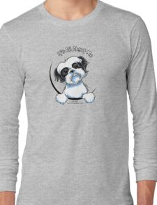 Black/White Shih Tzu :: It's All About Me Long Sleeve T-Shirt