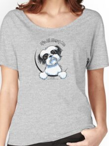 Black/White Shih Tzu :: It's All About Me Women's Relaxed Fit T-Shirt