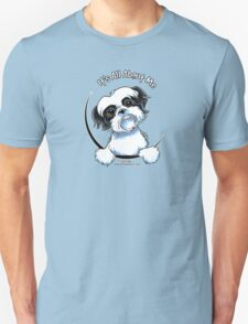 Black/White Shih Tzu :: It's All About Me Unisex T-Shirt