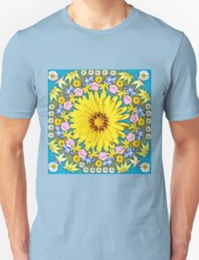 Yellow Everlastings with other Wildflowers T-Shirt