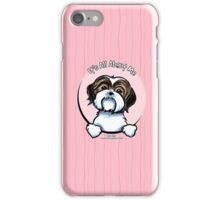 Brown/White Shih Tzu :: It's All About Me iPhone Case/Skin