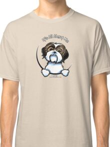 Brown/White Shih Tzu :: It's All About Me Classic T-Shirt