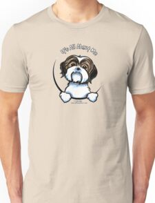 Brown/White Shih Tzu :: It's All About Me Unisex T-Shirt