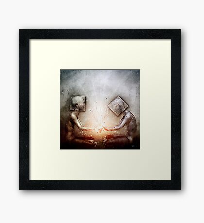 The Body And The Self Framed Print