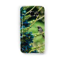 Honeyeater on Blue Puya Samsung Galaxy Case/Skin