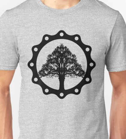 Tree of Life circle, black style Unisex T-Shirt